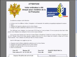 trojan-ransomware-gendarmerie-nationale-s-