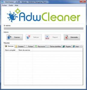 Awd Cleaner, Nettoyer votre navigateur