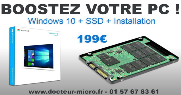 Windows 10 + SSD + Installation