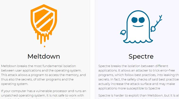 Intel meltdown spectre