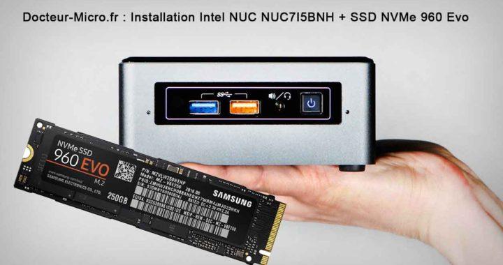 Présentation et installation Intel NUC - un mini PC Ultra